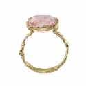 Bague Printemps rose
