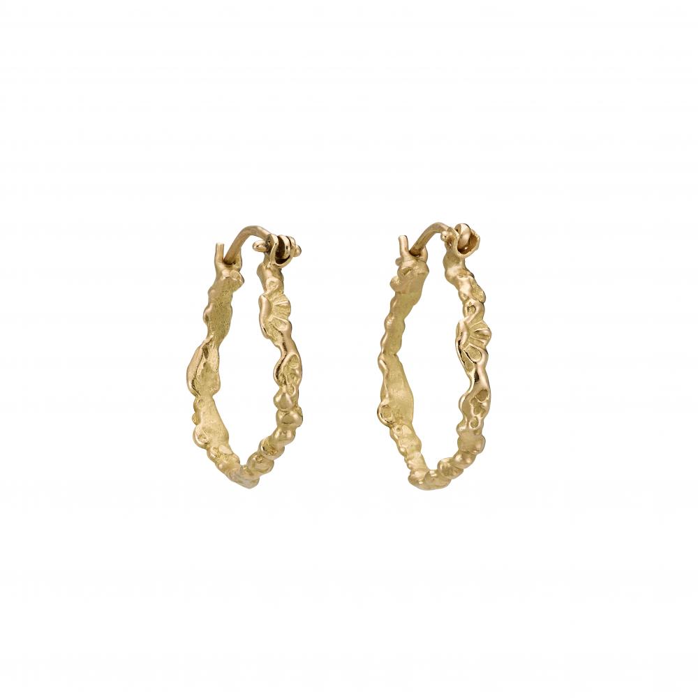 Boucles d'oreillesCascade d'or