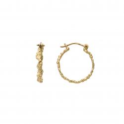 Golden waterfall earrings