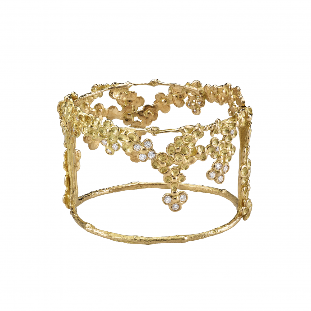 Mysterious garden bracelet