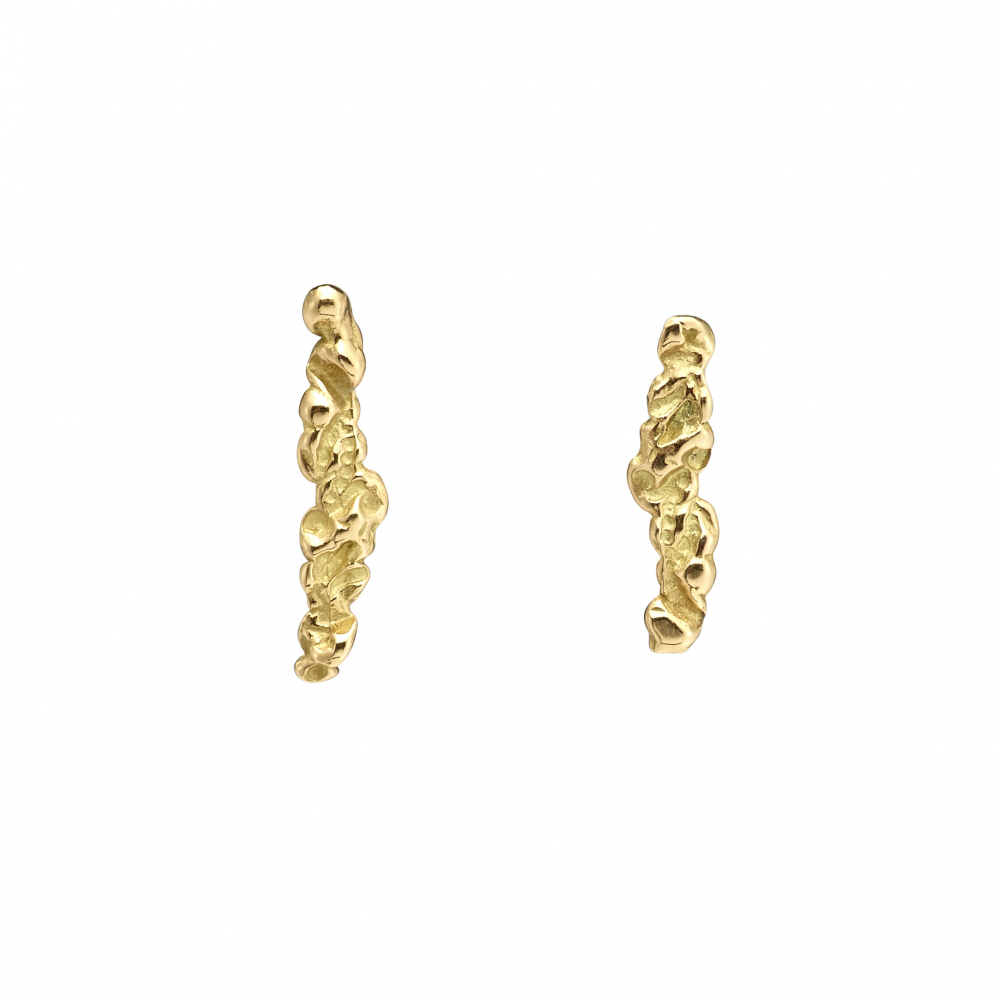 River of diamonds earrings