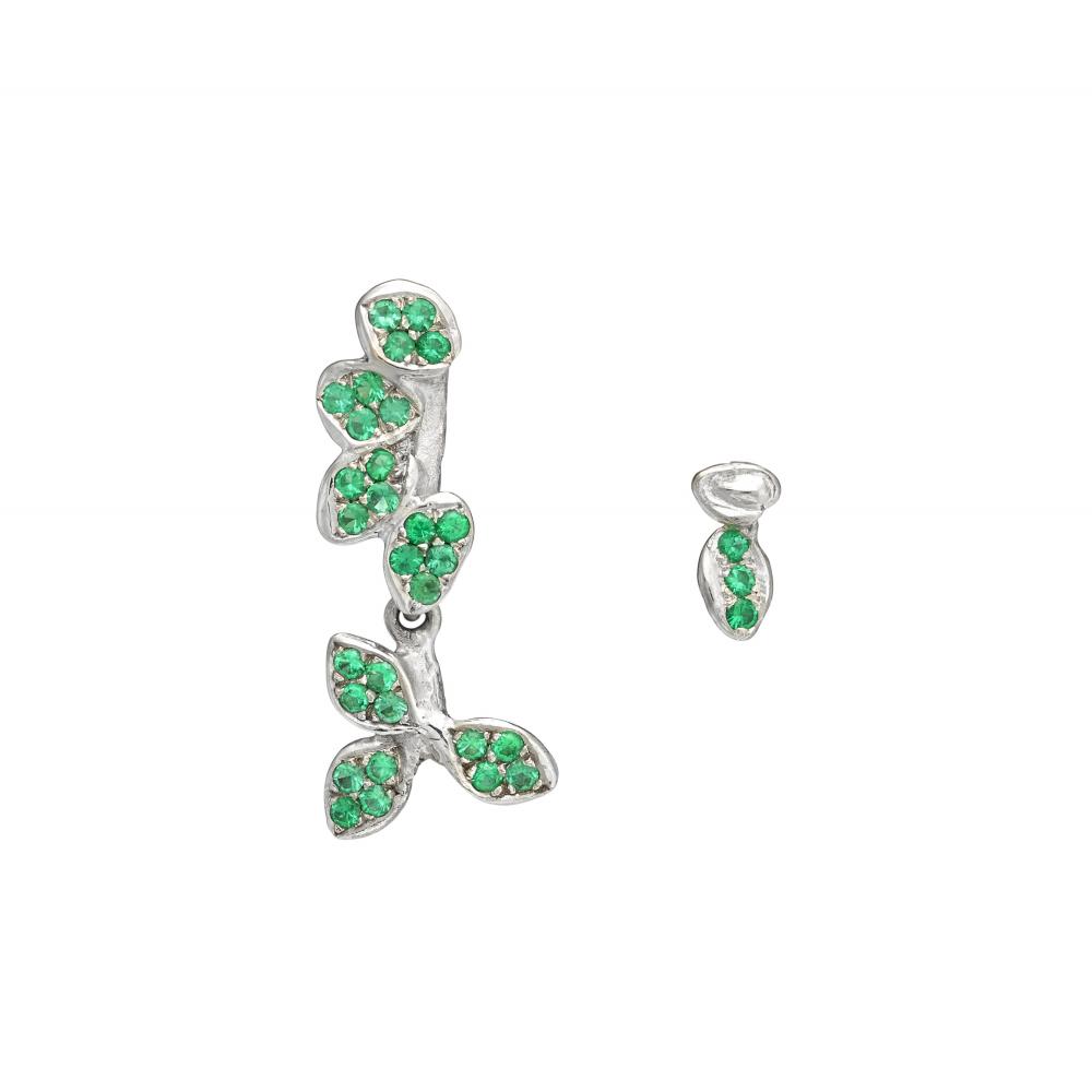 Animated stars earrings