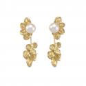 Suspended droplets earrings