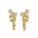Boucles d'oreilles Cerisiers en fleurs