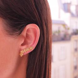 Mysterious garden earring