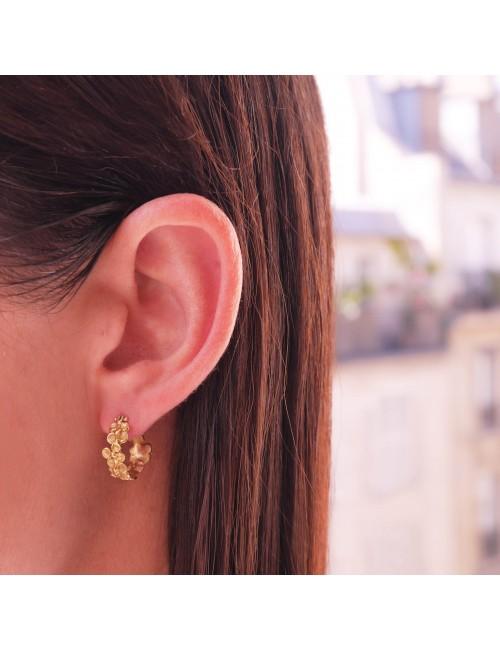 Boucles d'oreilles Caresse lumineuse