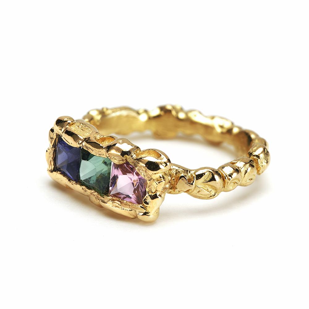 Luminous Trio Ring